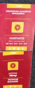 1997 JEEP WRANGLER Service Repair Shop Manual FACTORY SET W POWERTRAIN DIAGNOSTI