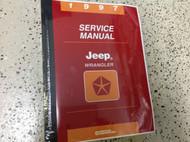 1997 JEEP WRANGLER Service Repair Shop Manual FACTORY DEALER OEM BOOK 97 NEW