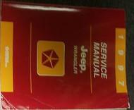 1997 JEEP WRANGLER Service Repair Shop Manual FACTORY DEALER OEM BOOK 97 MOPAR
