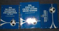1996 FORD CROWN VICTORIA MERCURY GRAND MARQUIS Service Shop Manual Set FACTORY