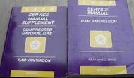 1996 DODGE RAM VAN WAGON Service Repair Shop Manual FACTORY OEM DEALERSHIP SET