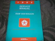 1995 DODGE RAM VAN WAGON Service Repair Shop Manual OEM FACTORY HOW TO FIX 95