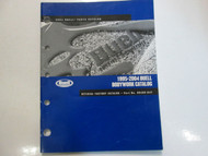 1995 1999 2000 2001 2004 Buell Bodywork Parts Catalog Manual FACTORY Brand New