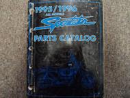 1995 1996 Harley Davidson Sportster Parts Catalog Manual FACTORY x BOOK 95 96