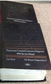 1994 FORD LINCOLN MERCURY Powertrain Control Emission Diagnosis Service Manual