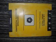 1994 Dodge Mopar Cummins Diesel Powertrain Service Manual 94 OEM Factory Book
