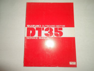 1980 Suzuki Outboard Motor DT3.5 Service Manual SR-9200 MINOR WATER DAMAGE OEM