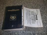 1992 1993 Cadillac Deville Fleetwood Sixty Special 60 Shop Service Manual SET