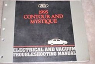 1995 FORD CONTOUR & Mercury Mystique Electrical Vacuum Troubleshooting Manual