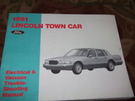 1991 Lincoln Town Car Electrical Wiring Diagrams Vacuum Troubleshooting Manual