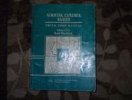 1991 Ford Ranger Explorer Aerostar Service Shop Repair Manual Vol 2 OEM 1991