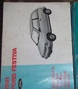 1991 FORD FESTIVA Electrical Wiring Diagrams Service Shop Repair Manual EWD 91