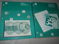 1991 1994 Cummins B SERIES Engine Troubleshooting Manual SET OEM Certification x