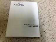 1991 1992 1993 1994 Acura NSX BODY Service Shop Repair Manual FACTORY ACURA NEW