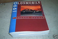 1990 Oldsmobile Cutlass Calais Factory Service Shop Repair Manual 90 DEALERSHIP