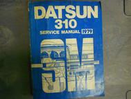 1979 Datsun 310 Service Shop Repair Workshop Manual FACTORY OEM 79 x