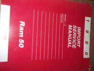 1990 Dodge Ram 50 RAM50 Electrical Service Shop Repair Manual VOLUME 2 ONLY
