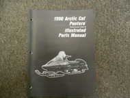 1990 Arctic Cat Pantera Illustrated Parts Catalog Manual OEM 90 Book x