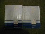 1989 MITSUBISHI Van Wagon Service Repair Shop Manual SET 2 VOLUME FACTORY OEM x