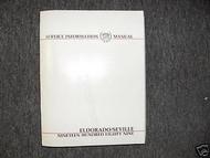 1989 CADILLAC SEVILLE Service Shop Repair Manual FACTORY OEM BOOK 89