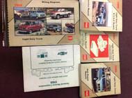 1988 GMC TRUCK RVGP R V G P RVG/P Service Shop Manual SET W EWD + UNIT + MORE 5B
