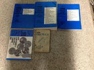 1988 Ford F-150 F250 F-250 350 Bronco Truck Service Shop Repair Manual Set W EWD