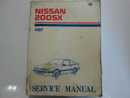 1987 Nissan 200SX 200 SX Service Repair Shop Manual Factory OEM Book USED x