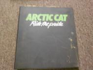 1987 94 Arctic Cat Service Bulletin Manual FACTORY OEM BOOK 87 DEALERSHIP