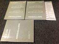 1987 1988 1989 Renault Medallion Service Shop Repair Workshop Manual SET W BODY