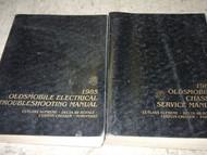 1985 GM OLDSMOBILE OLDS DELTA 88 ROYALE Service Shop Repair Manual Set OEM