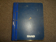 1985 86 88 1990 Saab 9000 Engine Fuel Injection System Exhaust Service Manual 90