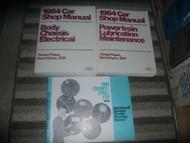1984 FORD ESCORT Service Shop Repair Manual Set FACTORY W WIRING DIAGRAM EWD