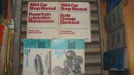 1984 FORD ESCORT MERCURY LYNX EXP TEMPO TOPAZ Service Shop Manual Set 4 VOL
