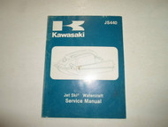 1982 1983 Kawasaki JS440 Watercraft Service Manual FACTORY STAINED FADED COVER