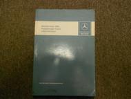 1981 MERCEDES Passenger Car 107 123 126 Introduction Into Service Manual OEM X