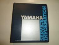 1980 1984 Yamaha Tech Update Warranty Newsletter Technical Education Manual OEM