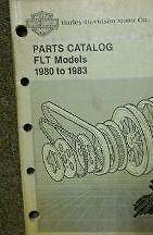 1980 1981 1982 1983 Harley Davidson FLT Models Parts Catalog Manual NEW Book