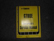 1978 Yamaha GT80E Service Repair Shop Supplementary Manual OEM FACTORY