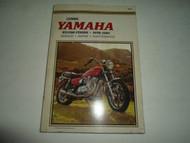 1978 1979 1981 Clymers Yamaha XS1100 Fours Service Repair Maintenance Manual x