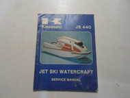 1977 1978 Kawasaki Jet Ski Watercraft JS 440 Service Repair Manual WATER DAMAGED