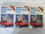 1976 1988 DATSUN NISSAN F10 310 STANZA PULSAR Service Manual Chilton USED