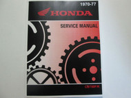 1976 1977 HONDA CB750 F K CB750/F/K Service Shop Repair Manual BRAND NEW