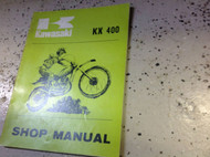 1975 1975 Kawasaki KX400 KX 400 Service Repair Shop Manual OEM BOOK 99997-718 X