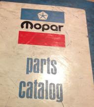 1973 Chrysler Dodge Mopar Plymouth Cars Parts Catalog Binder Manual Cuda Challen