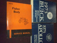 1973 BUICK REGAL CENTURY ELECTRA LUXUS Service Repair Shop Manual Set 3 VOL SET