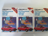 1973 1988 DATSUN NISSAN 1200 210 SENTRA Service Workshop Manual Chilton USED