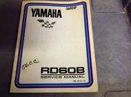 1973 1974 1975 YAMAHA RD60B RD 60 B Shop Service Repair Manual OEM FACTORY x