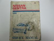 1989 Nissan Sentra Service Repair Shop Manual Factory OEM Book USED WEAR 89 x