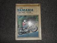 1970 1975 1982 Clymer Yamaha 650cc Twins Service Repair Maintenace Manual X