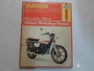 1970 -1976 Haynes Yamaha 250 350 Twins Service Repair Shop Manual 247cc 347cc